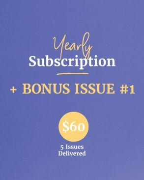 1 Year Subscription + BONUS Issue 1