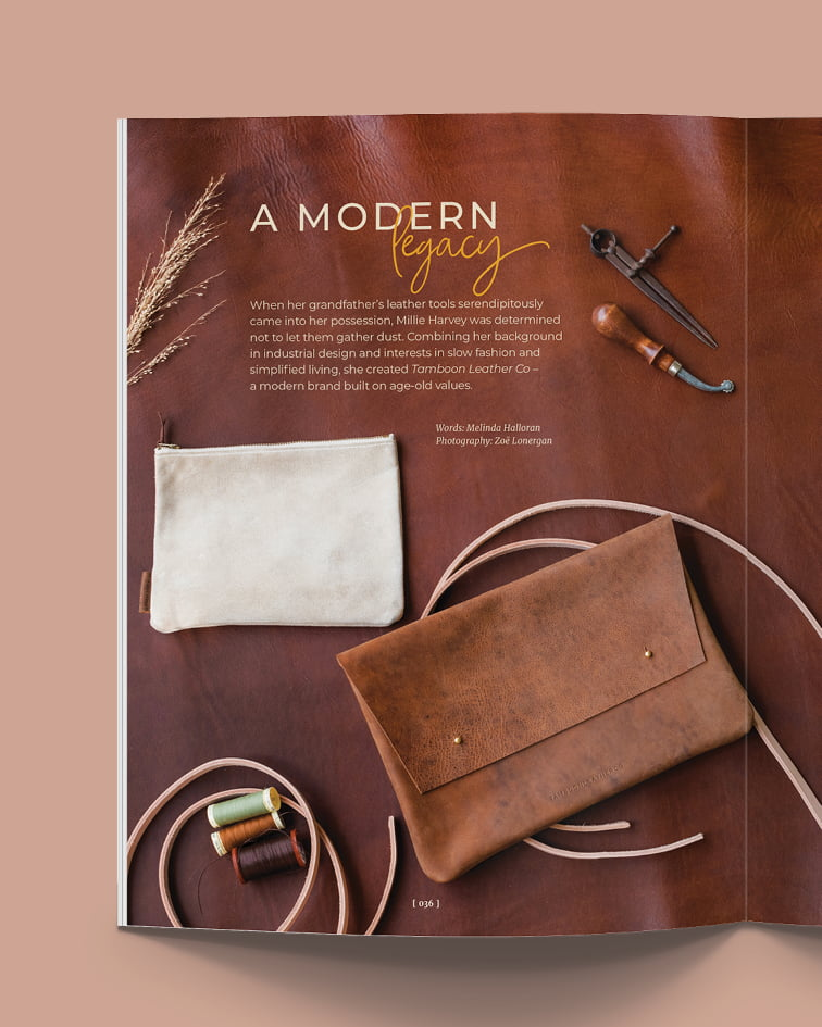 Swell Mag - Tamboon Leather Co